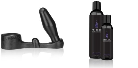 gift - ride silk hybrid - oxballs - cock ring - butt plug - ride guide