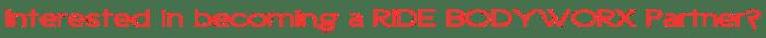Ride BodyWorx - Ride Lube