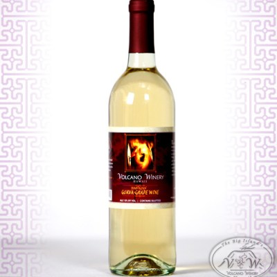 Volcano Winery Guava Grape Wine Image