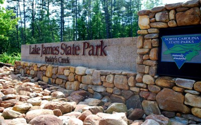 Lake James State Park Closed as Wildfires Continue