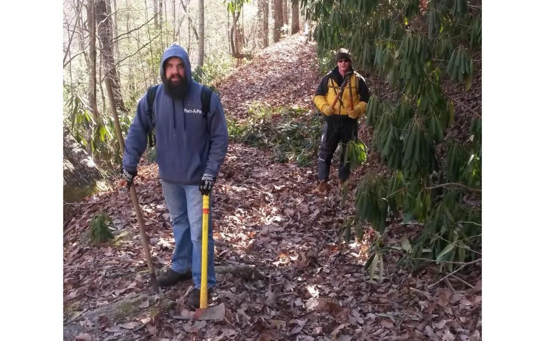 Pisgah Wilson Ridge Trail Day rescheduled for 3/14