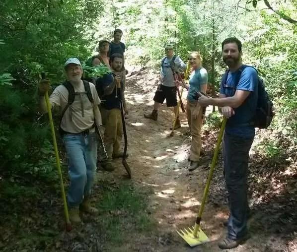 Upper Wilson Ridge Trail Work Part II