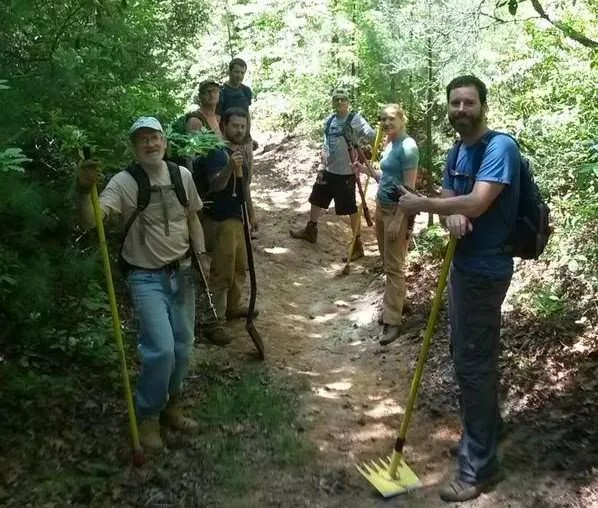Upper Wilson Ridge Trail Work Part II