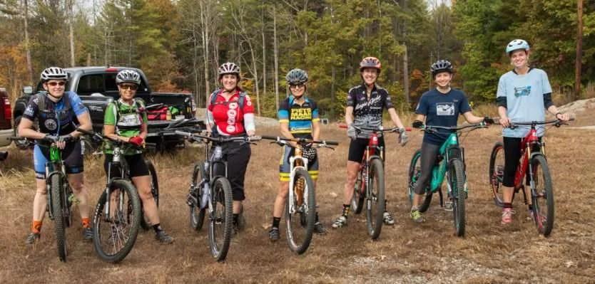 2017 Women's Group Rides