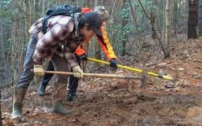 NICA Athletes Contributing to Northwest NC Trails