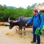 Mark's new name: Speaks with Water Buffalo.