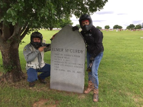 """Elmer McCurdy was killed near in the Osage Hills of Oklahoma and became """"famous"""" well after his death."""