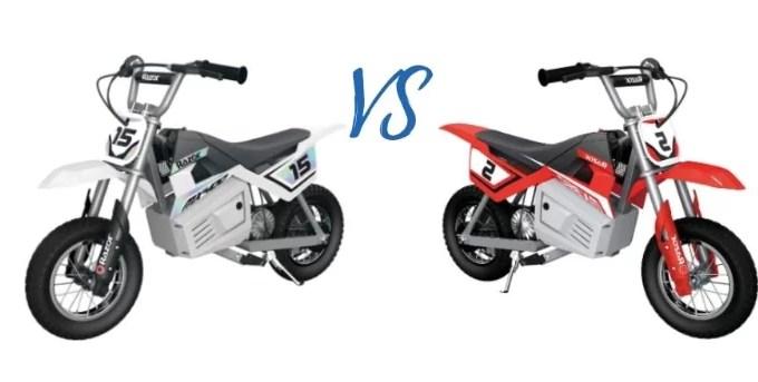 Razor MX400 vs MX350 Dirt Bike: Who's the Winner?