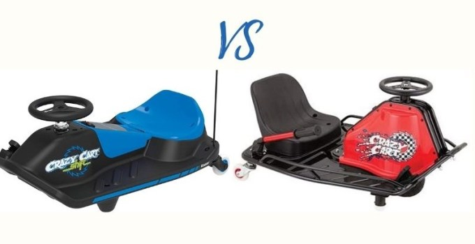 Razor Crazy Cart vs Crazy Cart Shift: Which Is the Best for Drifting?