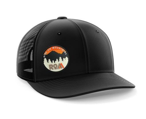mens trucker hat black outdoor