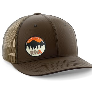 Circle PVC Tan-Brown Trucker Hat