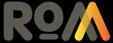 Black rom logo