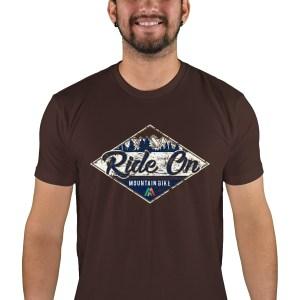 mens mtb rom chillin espresso t-shirt