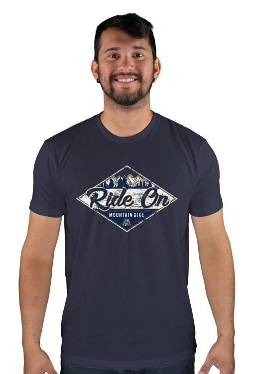 mens mtb rom chillin midnight blue t-shirt