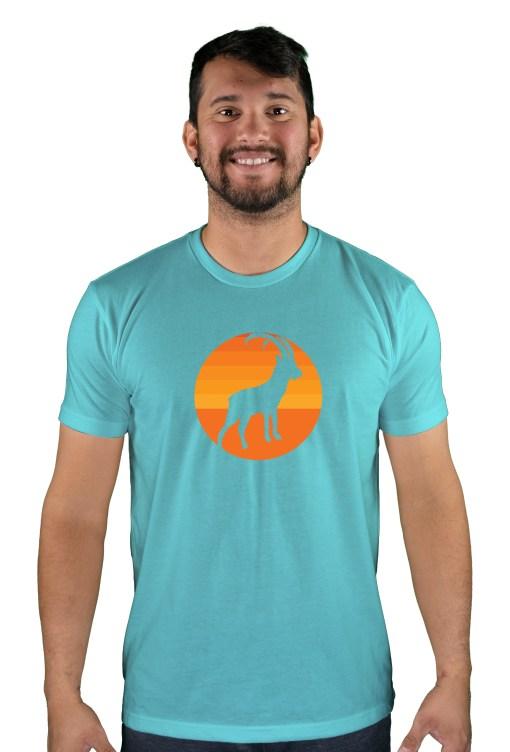 mens mtb tizi og tahiti blue t-shirt