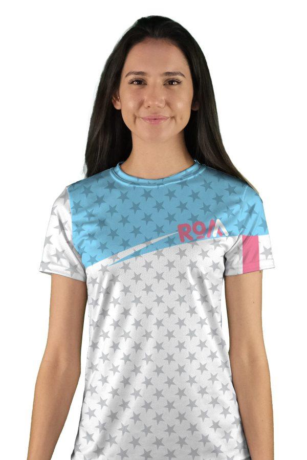womens short sleeve knievel mountain bike jersey