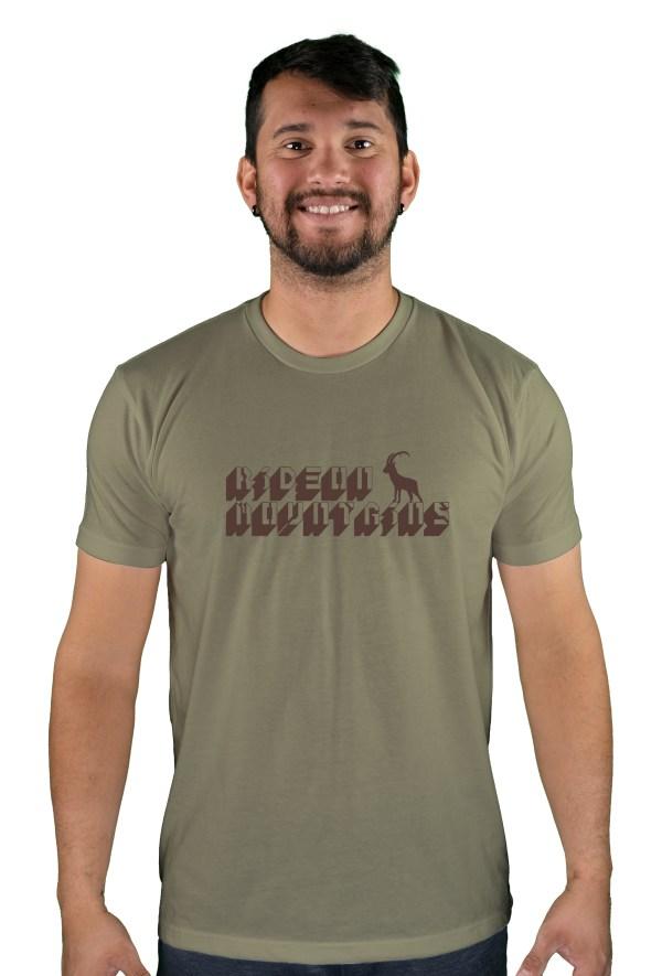 mens mtb digital light olive t-shirt