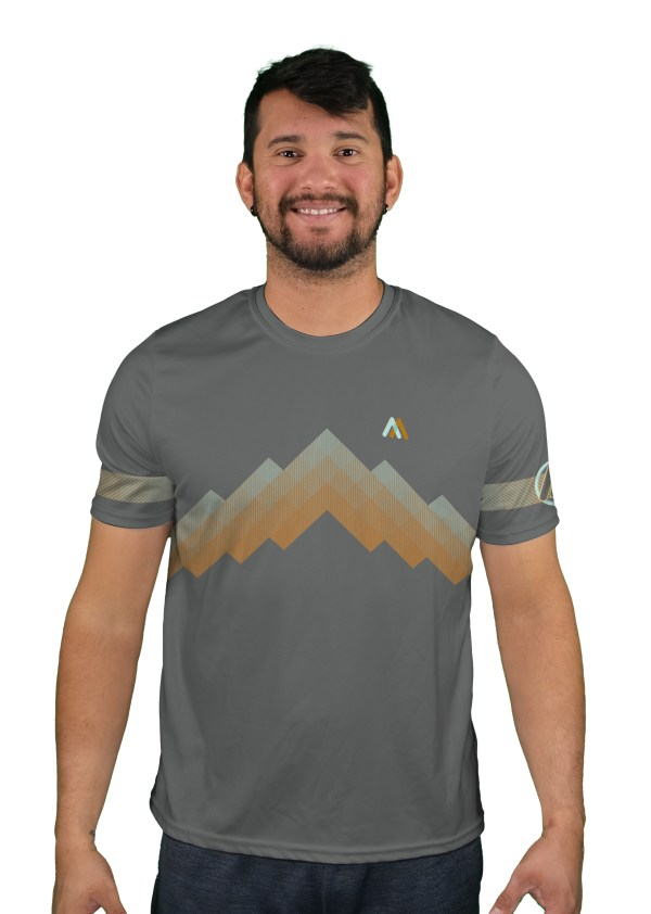 short sleeve arizona trail mens mountain bike jersey