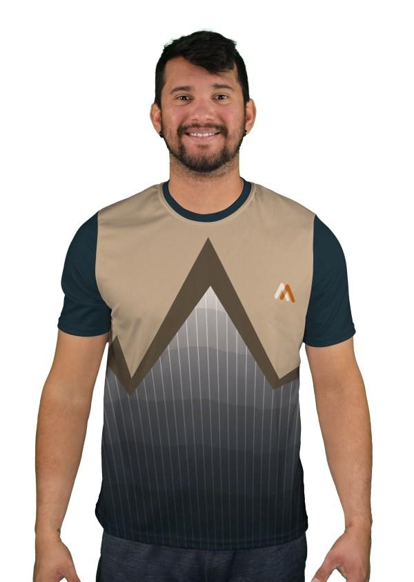 short sleeve razorwire mens mountain bike jersey