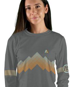 womens long sleeve arizona trail mtb jersey