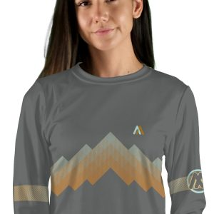 womens long sleeve arizona trail mountain bike jersey
