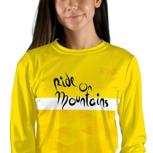 womens long sleeve col d aspin mtb jersey
