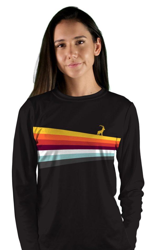 womens long sleeve mesa overlook mtb jersey