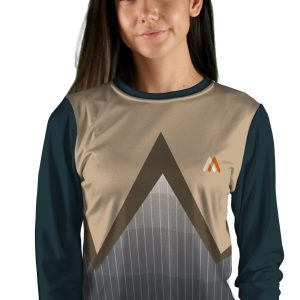 Womens Long Sleeve Razorwire MTB Jersey