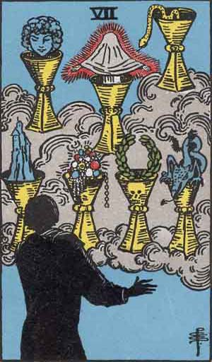 7 of Cups