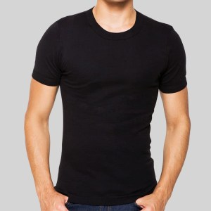 Rider Lifestyle Tshirt Man R223BWH Black 1 in 1 Pcs O Neck