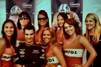 MotoGP 2009 - Dani Pedrosa Autograph Session
