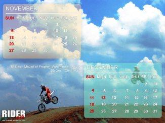 007 - Nov-Des - Kalender 2016