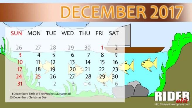 Kalender 2017 - Desember