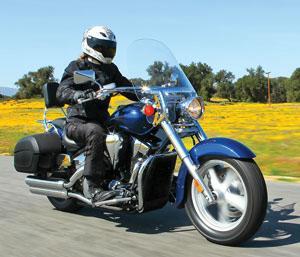 2010 Honda VT1300 Interstate accessories