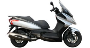 2011_KYMCO_Downtown300i_LS_hero