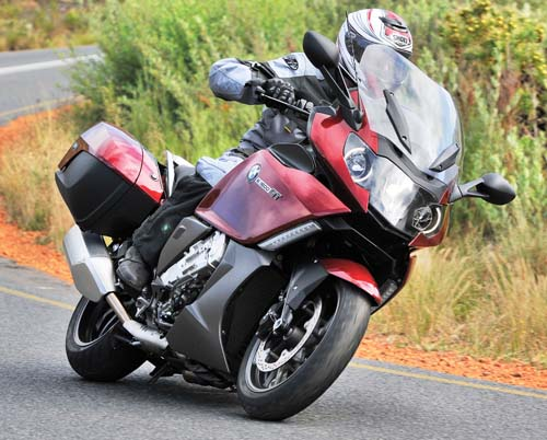 2012 BMW K1600GT right side action