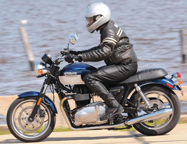 2009 Triumph Bonneville SE