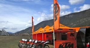 KTM Orange Ride on-site