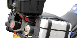 Givi Trekker Cases on a Suzuki V-Strom 650