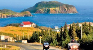 Small towns dot Canada's coastline