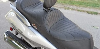Corbin seat for Honda Silver Wing