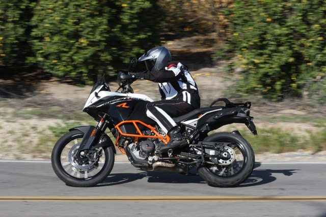 The 2014 KTM 1190 Adventure R is a powerful, capable street machine, but where it really shines is off-road.