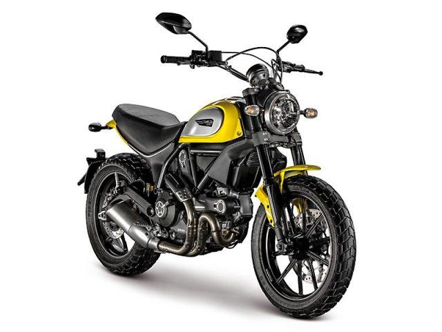 2015 Ducati Scrambler Icon in '62 Yellow