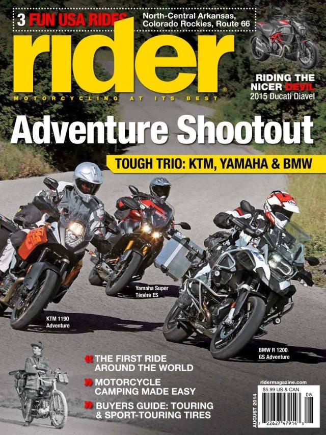 Rider August 2014