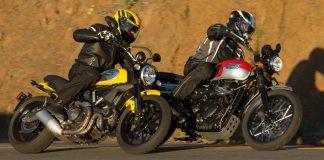 2015 Ducati Scrambler vs Triumph Scrambler