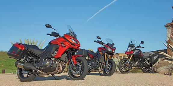 Kawasaki Versys 1000 vs Suzuki V-Strom 1000 vs Yamaha FZ-09