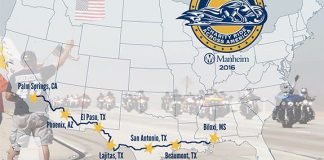 2016 Kyle Petty Charity Ride Route Map