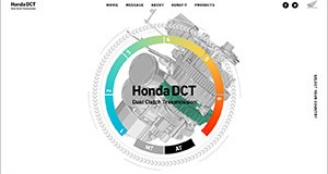 Honda has launched a new website specifically for the DCT (Dual Clutch Transmission), available on nine models across the range. (Photo: Honda)