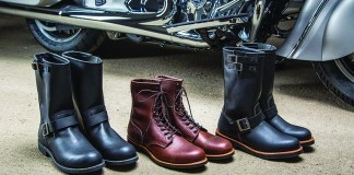 Indian Motorcycle Red Wing Shoes Collection.