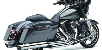 Cobra's 909 Twins muffler for Harley-Davidson Baggers